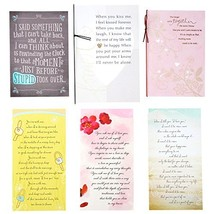 Hallmark Year of Love Greeting Card Assortment 6 Cards and 6 envelopes, ... - $22.14