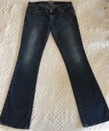 AMERICAN EAGLE Women's Distressed Stretch Bootcut Jeans Size 4 (29 x 31.5) - $12.95