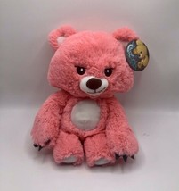 "Fiesta Grumpy Grizzly Teddy Bear Plush Pink Coral 14"" - $19.79"