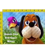 New Duck Hunt Birthday Party Edible Frosting Image 1/2 sheet Cake Topper - $18.99