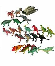 Hanlip Toys Dinosaur Dino Planet 20 Figure Figurines Play Toy Set (20 Counts)