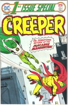 1st Issue Special Comic Book #7 The Creeper DC Comics 1975 VERY GOOD+ - $4.75