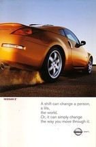 2003 Nissan 350Z sales brochure catalog set box US 03 Z - $12.00