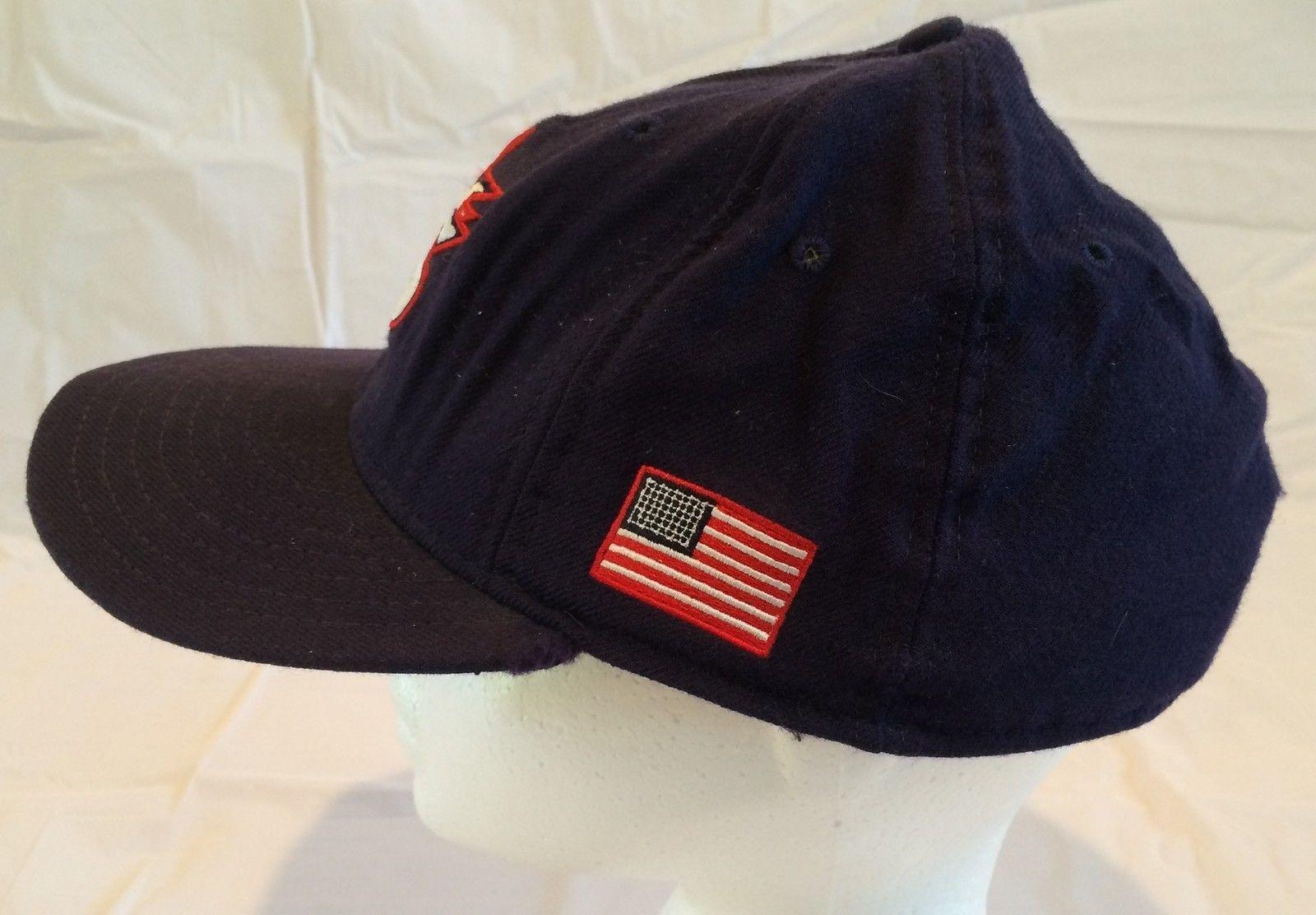 New Era 5950 Navy Blue United States US World Baseball Hat Size 7 7/8 (17-1)