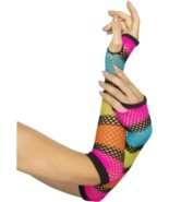 Fishnet Gloves, Long, One Size - £4.43 GBP