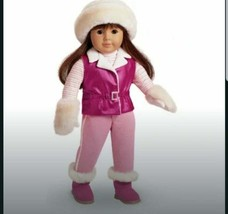 American Girl of Today Pink Ski Trip Outfit Complete Retired MIB - $46.54