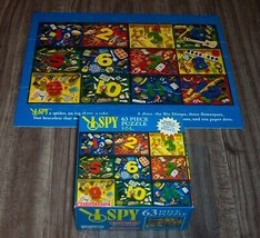 Briarpatch I SPY COLORFUL NUMBER JIGSAW PUZZLE 63 Pieces With Box - $14.85