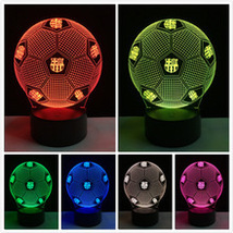 Soccer Night Light 3D   7 changing  colors  - $24.99