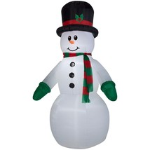 Airblown Inflatable-Snowman Giant 10ft tall by Gemmy Industries Christma... - £44.86 GBP