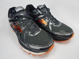 Brooks GTS 17 Running Shoes Men's Size US 8 M (D) EU 41 Gray Orange 1102411D024