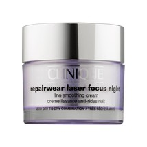 CLINIQUE Repairwear Laser Focus NIGHT Line Smoothing Cream VERY Dry 1.7o... - $83.24