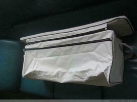 Underseat bag with cushion  for inflatable boat dinghy image 2