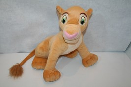 "Disney EX-LG 17"" 2002 Lion King Simba's Friend Nala Plush Stuffed Animal - $49.95"