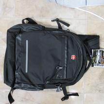 """SWISSGEAR Laptop Backpack 15.6"""" Bookbag Knapsack Black - $35.06"""