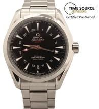 Omega Seamaster Aqua Terra GMT Co-Axial Automatic SS 231.10.43.22.01.001... - $4,800.00