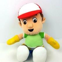 "Disney Handy Mandy 12"" Plush Boy Doll Stuffed Animal Green Shirt Yellow ... - $16.83"