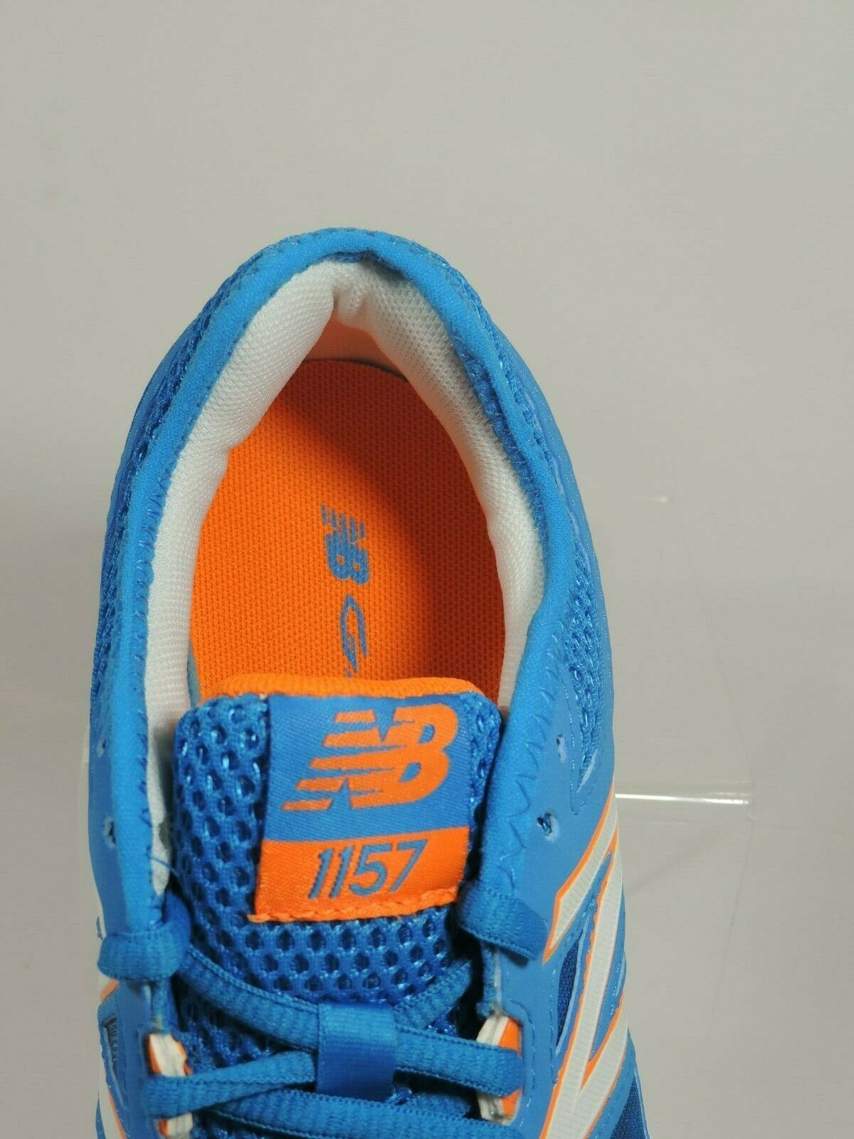 NEW BALANCE WOMENS SHOES WX1157BW SNEAKERS RUNNING BLUE WHITE SZ 6 B image 3
