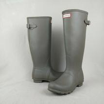 Hunter Original Back Adjustable Tall Waterproof Rain Boots Women's Size 8  - $110.00