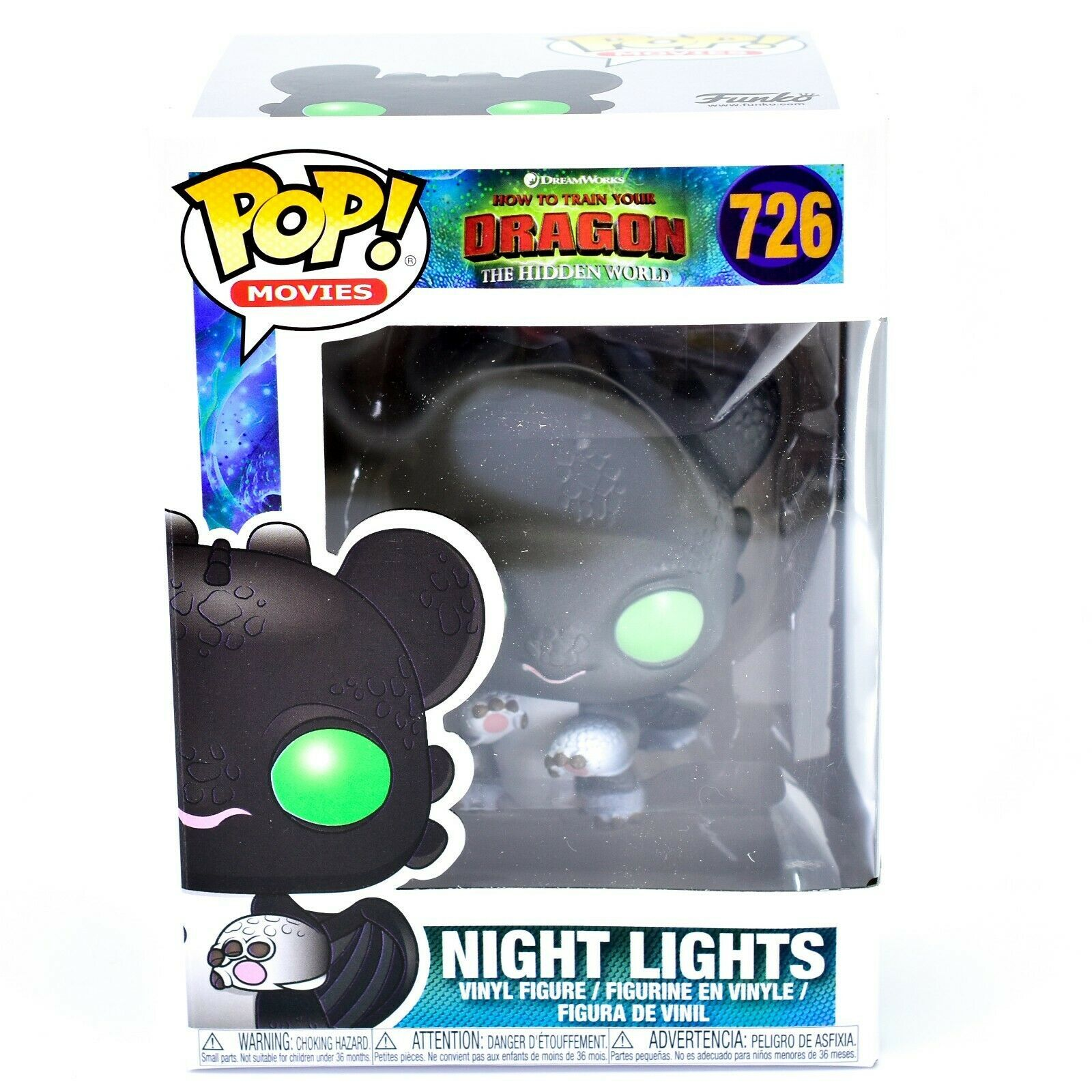 Funko Pop! How to Train Your Dragon 3 Hidden World Night Lights Allison #726