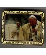Rare Catholic Midnight Mass at St. Peter Basilica with The Pope Pin - Wi... - $14.36