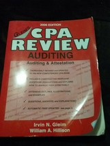 Gleim's CPA REVIEW AUDITING 2006 Edition - Auditing & Attestation CPA Re... - $19.79