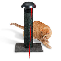 Penn Plax Cat Scratching Post and Laser Toy – 360-Degree Laser Light and... - £35.93 GBP
