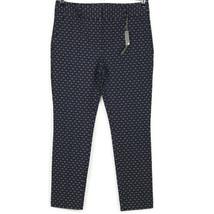 Ann Taylor LOFT Marisa Skinny Ankle Pants Blue Peach Size 8P Stretch - $44.50