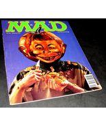 MAD Magazine 316 Jan 1993 VG Pumpkin Jack O Lantern Head Carving Hallowe... - £9.44 GBP