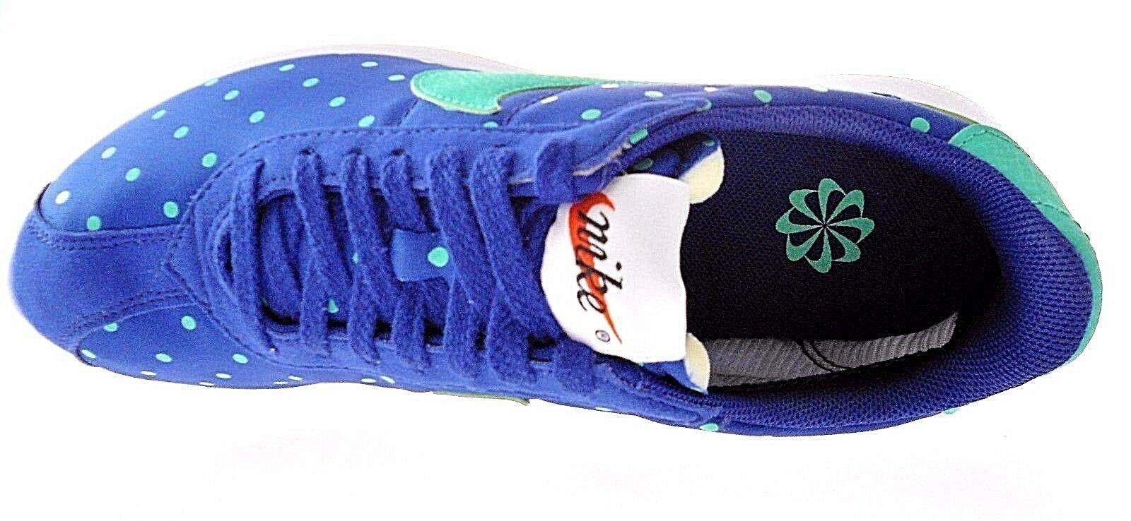 NIKE W ROSHE LD-1000 POLKA DOT PRINT WOMEN'S ROYAL BLUE SNEAKERS#810861-431$110.