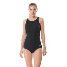 Speedo Women's High Neck Women's Swimsuit, Speedo, Black, 10 - $53.22