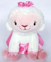 Disney Store Doc McStuffins Lambie Lamb White Pink Tutu Plush Stuffed An... - $12.75