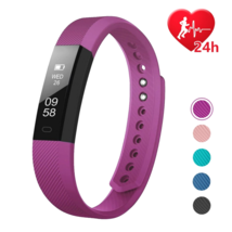 Fitness Activity Tracker Watch Fitbit Heart Rate Monitor Pedometer Andro... - $640,61 MXN