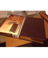 NASB STUDY BIBLE Burgundy Leather New American Standard Bible ZONDERVAN - $56.92