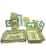 "20 Piece Temp-Tations Presentable Ovenware ""OLD WORLD"" Green by TARA Kit... - $118.79"