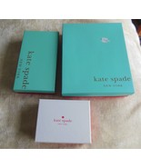Kate Spade Gift/Storage Boxes  Lot of 3 - $34.65