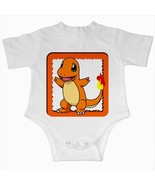 charmander pokemon infant baby creeper bodysuit romper newborn  - $20.00