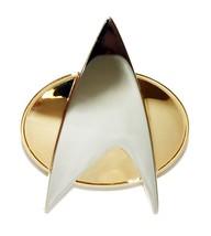 Star Trek COSplay Starfleet Captain Badge Combadge Pin Insignia Brooch Gift Box - $12.99