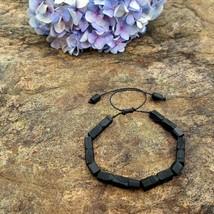 Azabache Bracelet Protection Adult - Jet Black Figa Hand Charm Evil Eye - $26.99