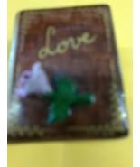LIMOGES China No 8 of 250 BOOK of LOVE w/ Rose Peint Main TRINKET BOX So... - $49.99