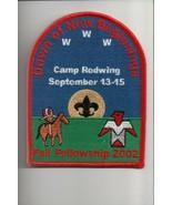 2002 Camp Redwing Fall Fellowship OA patch - $5.05