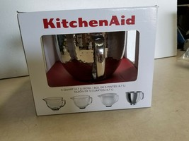 KitchenAid 5-Quart Stainless Steel Bowl for Tilt-Head Mixers, Hammered - $59.80