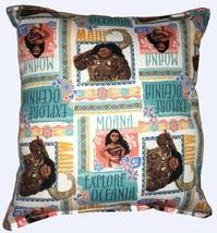 Moana Pillow New Disney MOANA & Maui Movie Design Pillow Handmade In USA - $10.49