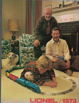 Lionel Toy Train Catalog 1973 Model Railroading 16 pages - $8.00