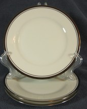 Noritake COUNTESS 7223 Lot of 3 Bread & Butter Plates Cream with Platinum Trim - $27.95