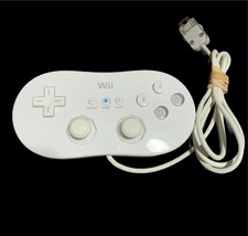 Nintendo Genuine Official White Classic Controller Wii RVL-005 Untested - $24.72