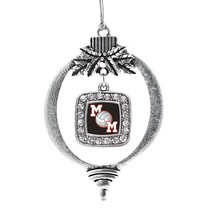 Inspired Silver Volleyball Mom Classic Holiday Christmas Tree Ornament W... - $14.69