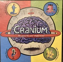 Original Cranium Board Game-The Family Game For Your Whole Brain-2002 Ha... - $9.89