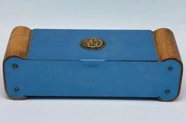 Vtg Floron Desktop Sigarette Scatola W Athena Emblema Presto Moderni - A... - $42.94