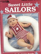Sweet Little Sailors 4 Crochet Patterns for Baby Outfits for Your Little... - $7.00