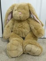 "Build A Bear Workshop 18"" Light Brown CUTE Bunny Rabbit BABW PLUSH Floppy - $19.79"